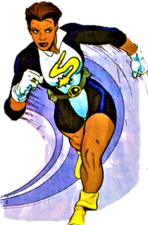 XS (comics) Fictional character, a superheroine in the future of the DC Comics universe