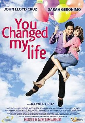 You Changed My Life - Theatrical release poster