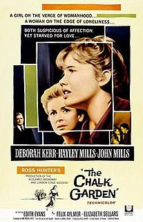<i>The Chalk Garden</i> (film) 1964 film by Ronald Neame