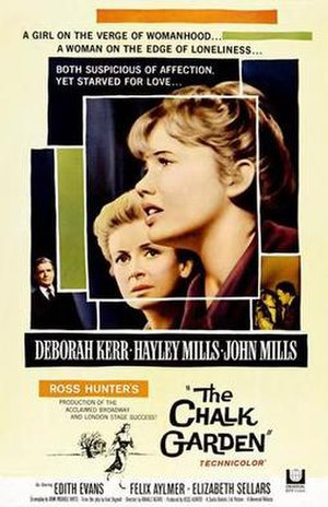 The Chalk Garden (film) - Theatrical release poster