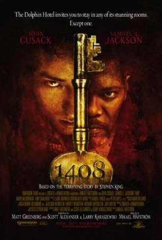 1408 (film) - Theatrical release poster