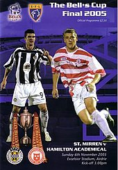 2005 Scottish Challenge Cup Final programme cover.jpg