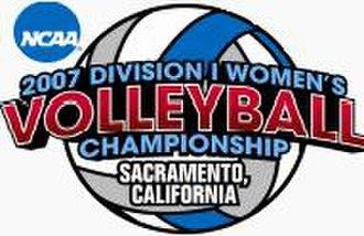 2007 NCAA Division I Women's Volleyball Tournament - 2007 NCAA Final Four logo