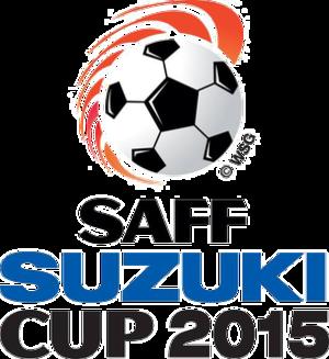 2015 SAFF Championship - Image: 2015SAFFSuzuki Cuplogo