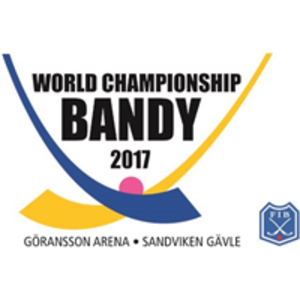2017 Bandy World Championship - Image: 2017 Bandy World Championship logo