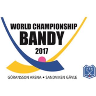 2017 Bandy World Championship - Image: 2017 Bandy World Championship logo