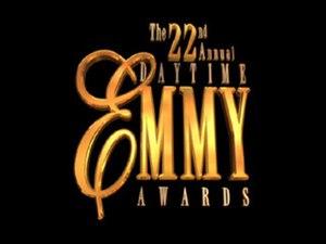 22nd Daytime Emmy Awards - Image: 22nd Daytime Emmy Awards logo