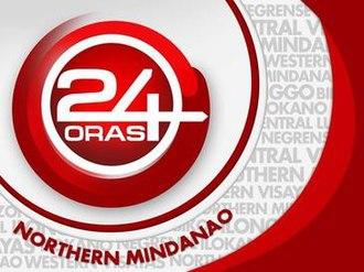 24 Oras Northern Mindanao - Image: 24 Oras Northern Mindanao titlecard