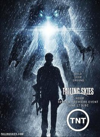 Falling Skies (season 2) - Promotional poster for the second season
