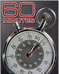 Since the late-70s, 60 Minutes' opening features a ticking Aristo stopwatch. Since October 29, 2006, the background changed to white.