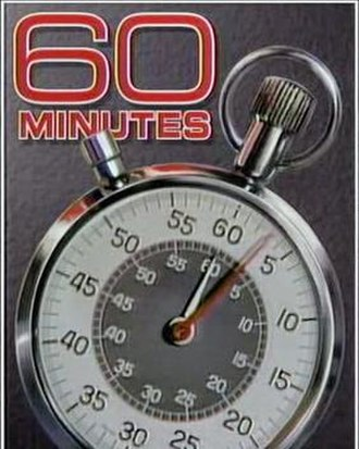 60 Minutes - Since the show's inception in 1968, the opening of 60 Minutes features a stopwatch. The Aristo (Heuer) design first appeared in 1978. On October 29, 2006, the background changed to red, the title text color changed to white, and the stopwatch was shifted to the upright position. This version was used from 1992 to 2006 (the Eurostile font text was changed in 1998).