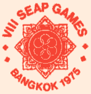 1975 Southeast Asian Peninsular Games - Image: 8th seap games