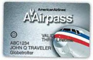 AAirpass - sample lifetime AAirpass card
