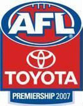 2007 AFL season - Official 2007 AFL logo