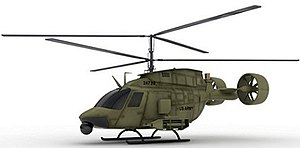 Armed Aerial Scout - AVX's Kiowa Warrior-based concept