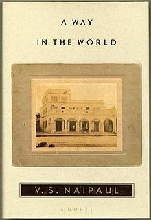 <i>A Way in the World</i> book by V.S. Naipaul