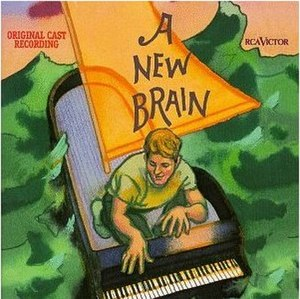 A New Brain - CD Cover of the Original Cast Recording