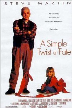 A Simple Twist of Fate - Original poster