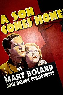 <i>A Son Comes Home</i> 1936 film by Ewald André Dupont