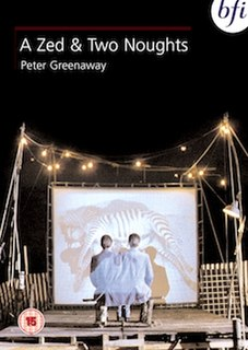<i>A Zed & Two Noughts</i> 1985 film by Peter Greenaway