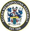 Official seal of Accra Metropolitan DistrictCity of Accra
