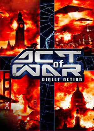 Act of War: Direct Action - Image: Act of War Direct Action Coverart