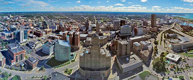 File:Aerial photo of Buffalo, NY Skyline.jpg - Wikipedia