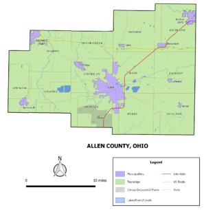 Allen County Ohio Wikipedia