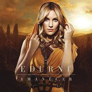 Amanecer (song) - Image: Amanecer Edurne cover
