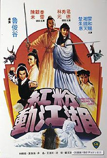 Ambitious kung fu girl with