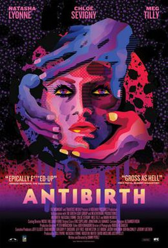 Antibirth - Theatrical release poster