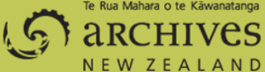Archives New Zealand - Image: Archives New Zealand logo