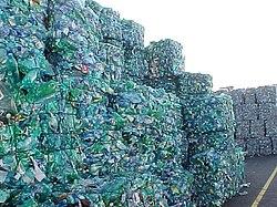 Bails Of Plastic Bottles