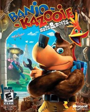 Banjo-Kazooie: Nuts & Bolts - Image: Banjo Kazooie Nuts & Bolts Game Cover