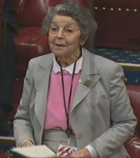 Doreen Miller, Baroness Miller of Hendon British politician