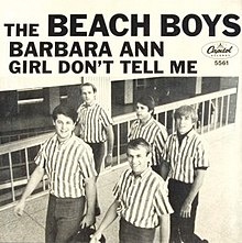 The Beach Boys — Barbara Ann (studio acapella)