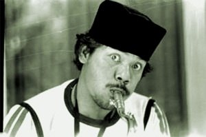 Songkok - Benyamin Sueb wearing a Songkok/Peci. It is traditionally worn by Betawi men in Jakarta, Indonesia