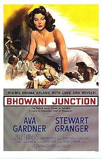 <i>Bhowani Junction</i> (film) 1956 film by George Cukor