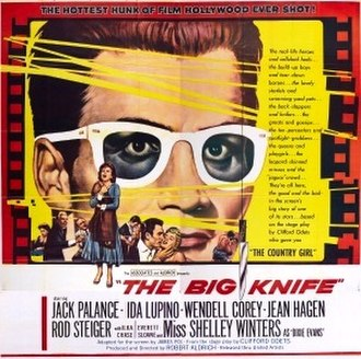 The Big Knife - Theatrical release poster