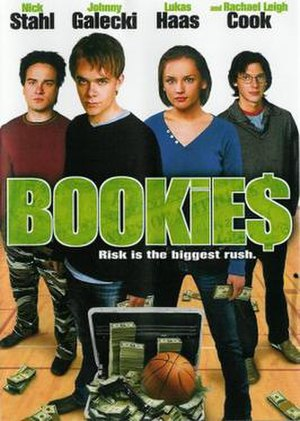 Bookies (film) - DVD cover