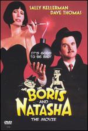 Boris and Natasha: The Movie - DVD cover