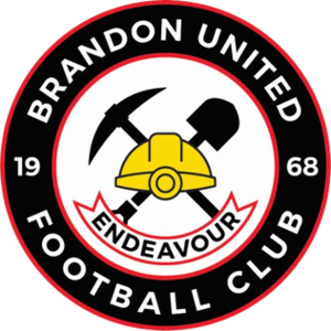 Brandon United F.C. - Image: Brandon United F.C. logo