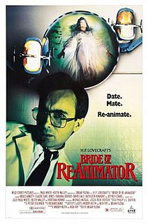 <i>Bride of Re-Animator</i> 1991 film by Brian Yuzna