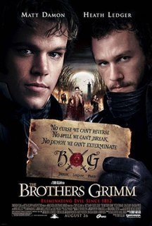 <i>The Brothers Grimm</i> (film) 2005 film by Terry Gilliam