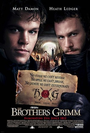 The Brothers Grimm (film) - Theatrical release poster