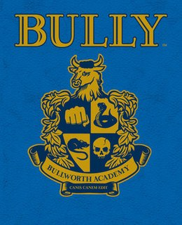 <i>Bully</i> (video game) 2006 action-adventure video game