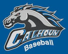 Logo of Calhoun High School's baseball team