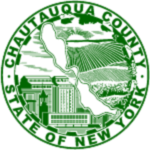 Chautauqua County, New York - Image: Chautauqua County ny seal