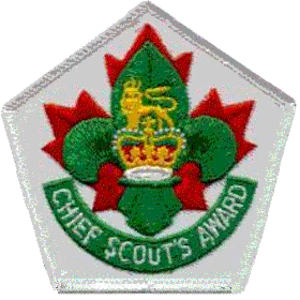 Chief Scout's Award (Scouts Canada) - Image: Chief Scout's Award (Scouts Canada)