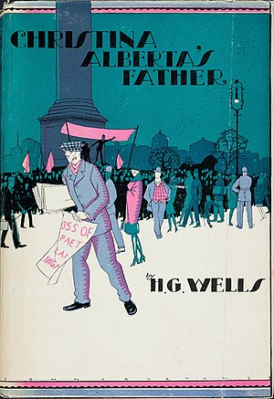 Christina Alberta's Father - First UK edition